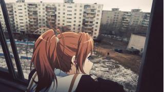 ロシアの寂れた風景に美少女アニメキャラたちを合成 海外掲示板に投稿されたコラ画像が面白いと話題に