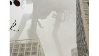 大気汚染が深刻化している中国に巨大怪獣が出現!? コラ画像なのにコラに見えないと話題に
