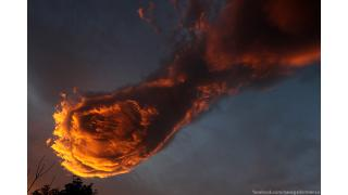 """終焉の時が近いのか ポルトガル上空に巨大な""""火球""""のような雲が出現!「FFのメテオみたいだ」「神の鉄拳だ」"""