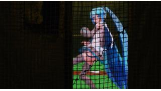 """最高130キロを投げる""""北の妖精"""" 札幌・すすきのにあるバッティングセンターに「雪ミク」が登板"""