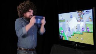 「ね?簡単でしょう?」スーパーマリオメーカーの遊び方をボブ・ロスが教えてくれるモノマネビデオ