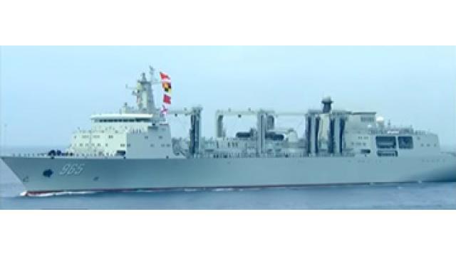 海上閲兵式に登場した中国海軍の支援艦艇と揚陸艦艇 -『NEWSを疑え!』第672号(2018年4月16日特別号)