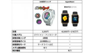 Apple Watchが妖怪ウォッチに完全敗北の様子