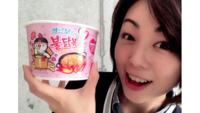 早川亜希動画#495≪激辛ラーメン実食!プルダックポックンミョン、カルボ味!≫
