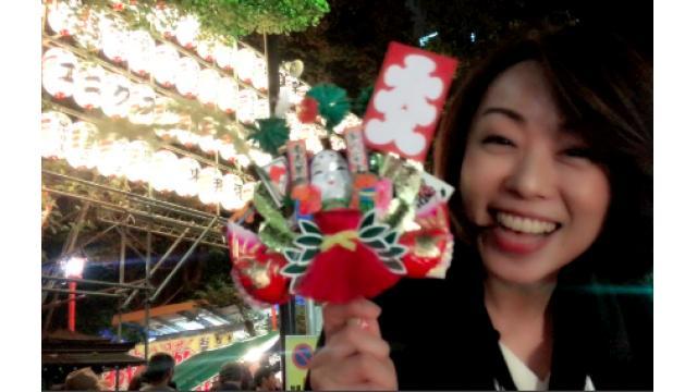 早川亜希動画#572≪酉の市!花園神社に行って来ました★≫