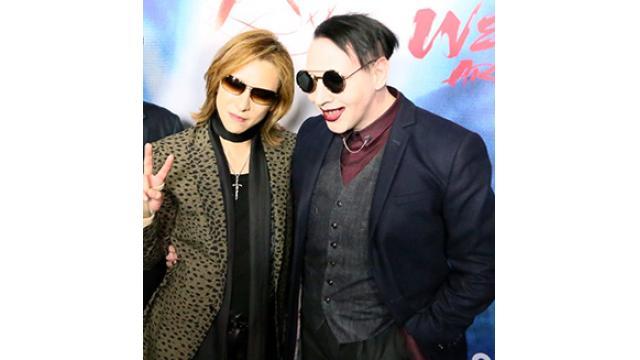 海外でも映画「WE ARE X」の快進撃が止まらない!YOSHIKIを熱狂的に出迎える各国のファンの様子は圧巻!!マリリン・マンソンとのレコーディングも明らかに!