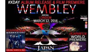 X JAPAN SSE Arena Wembley 「YOSHIKI MEMBER TOUR」  YOSHIKI mobile受付!!