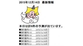 2015年12月14日 最新情報