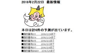 2016年2月22日 最新情報