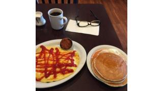 朝食@ホノルル