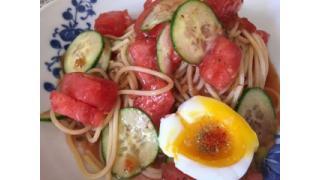 大江屋レシピ (11) 真夏の限定企画「スイカの冷製パスタ」の巻