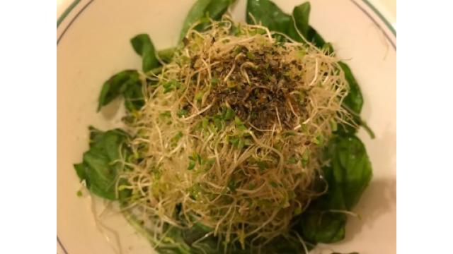 大江屋レシピ(22)「アルファルファのサラダ」の巻