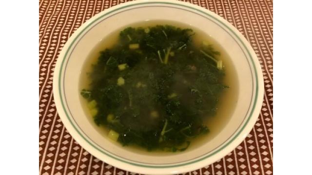 大江屋レシピ(24)「ケールが鳴くからケールスープ」の巻