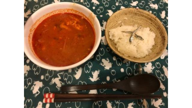 大江屋レシピ(42) 「チキンのテグタンクッパ」の巻