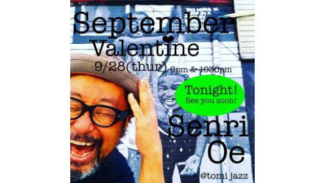 Senri @Tomi Jazz Tonight!