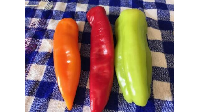 大江屋レシピ(47) 「3色ベルペッパーのローズマリー&レモンソテー」の巻