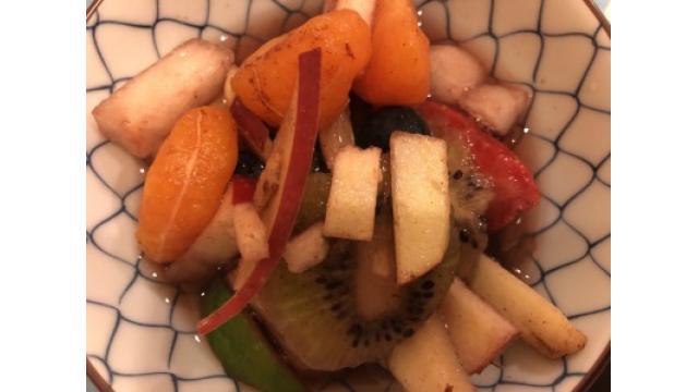 大江屋レシピ(63)「マチェドニア地方は本日も晴天なり!フルーツサラダ!」の巻