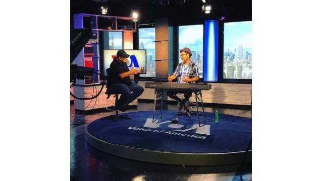 ボイスオブアメリカの インドネシアのインタビュー
