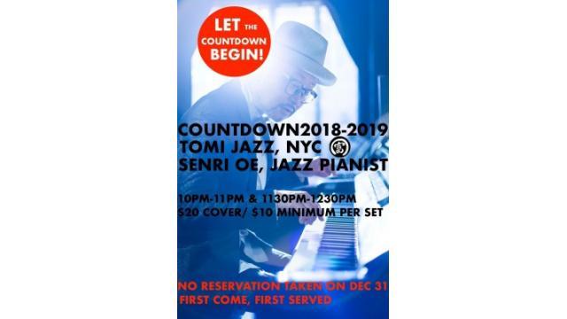 COUNTDOWN 2018-2019 TOMI JAZZ, NYC
