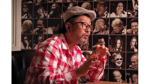 Senri Oe Interview @BLUE NOTE TOKYO
