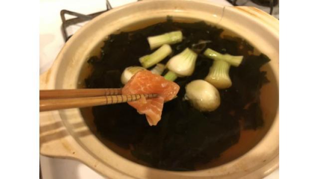 大江屋レシピ(86)「しゃけ鍋」の巻