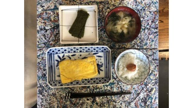 やっぱり朝は和食!