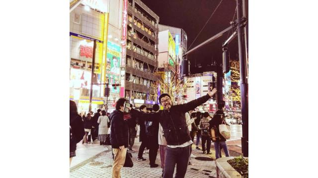 道玄坂、渋谷っす!ビバ東京!