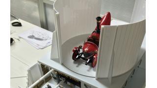 蒸気自動車を収納出来るエントランスを作ります!|スチームパンク造形日記