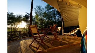 樹木2本に吊るして設置する宿泊可能ツリードーム『Dom'Up』が発売!