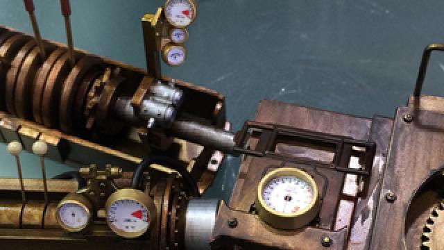 【オトナの趣味道:造形編】小物類や計器板の演出方法を紹介|スチームパンク造形日記vol.21