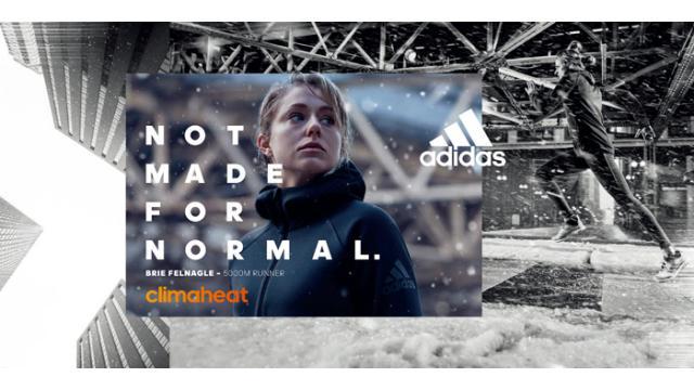 adidasから史上最高の暖かさと軽さを誇る「アディダス クライマヒート」搭載の2016年秋冬モデル発売