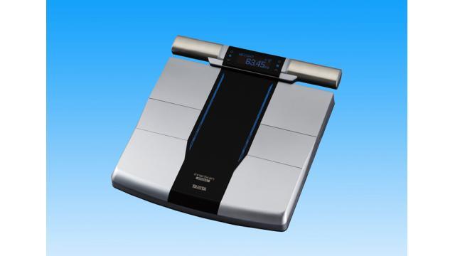 タニタ『RD-800』新発売!「筋質」を部位ごとに評価可能な体組成計!