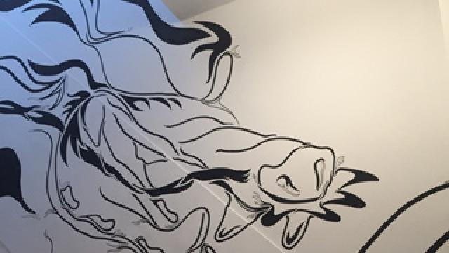 【男の本気DIY】4階建ビルをまるごとDIY!階段ウォールアート編を紹介!