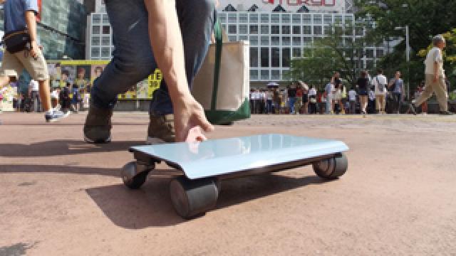 携帯ラクラク!超小型超軽量の電気自動車『WALKCAR(ウォーカー)』!