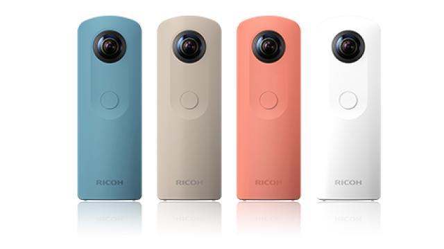 写真も動画も360度撮影できる!「RICOH THETA S」実機レビュー