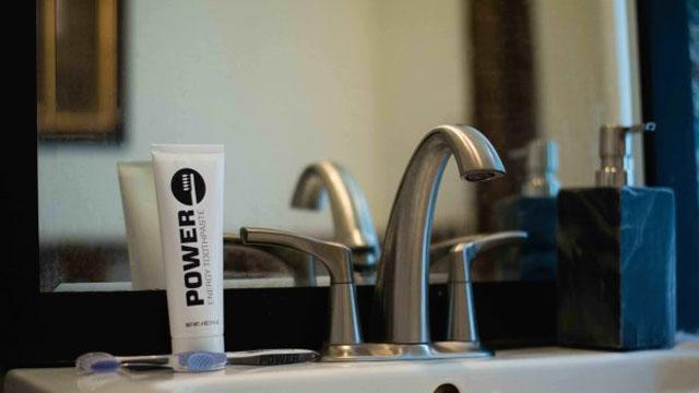 コーヒー代わりに!世界初のカフェイン入り歯磨き粉『Power』で目覚めよう!