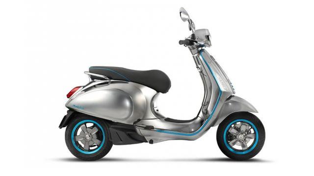 あの「ベスパ」がEVスクーターを開発「Elettrica」は2017年内発売予定