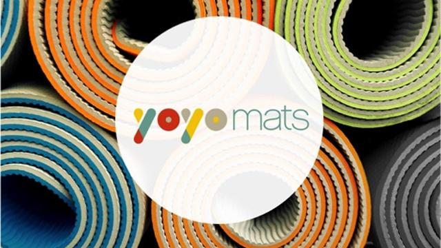 持ち運び楽々!自動でロールアップするヨガマット『YoYoMats(ヨーヨーマット)』発売!