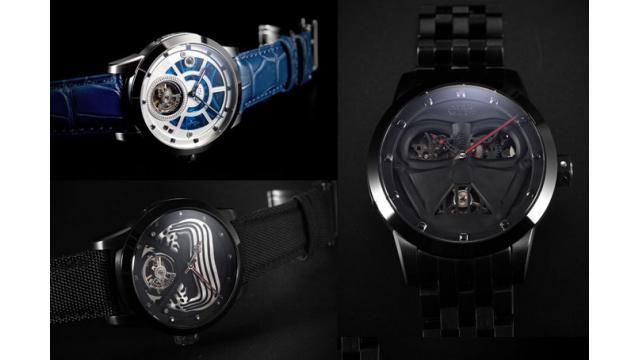 世界で100本限定の「スター・ウォーズ ローグ・ワン」コラボ腕時計