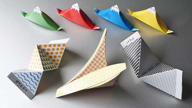おにぎりを折り紙のように折りたたんで作る『オリニギリ』が登場!