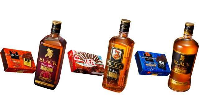 「ニッカウィスキー」と「森永チョコレート」がセットになったコラボ商品が発売!