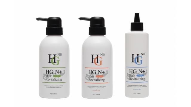 薄毛治療用シャンプー「HG N+薬用ドクターズヘアケアシリーズ」が発売