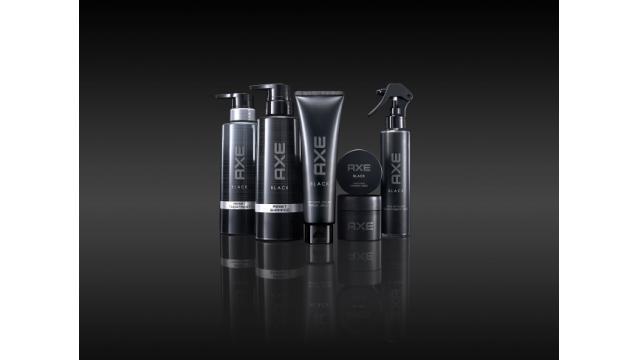 ユニリーバ「AXE BLACK」から20代男性向けヘアケアアイテムが新登場