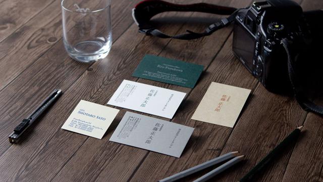 店頭で紙や色を選んでオーダー名刺制作『Selectier-名刺-』がサービス開始!