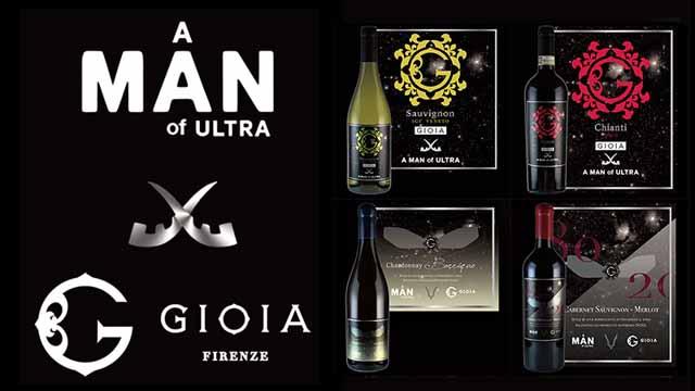 ワインブランド「GIOIA」×「A MAN of ULTRA」のコラボワイン発売!