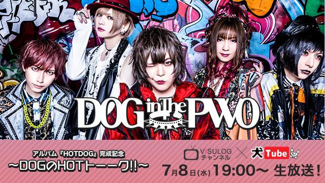 7月8日(水)19時より、DOG inThePWOオフィシャルYouTube『犬Tube』&『ViSULOGチャンネル』コラボ放送!『アルバムHOTDOG完成記念~DOGのHOTトーーク!!~』の放送決定!
