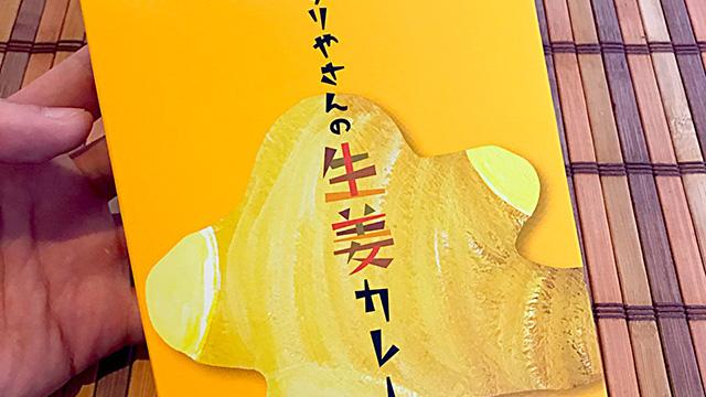 【1年1000カリー】1月10日 おくすりやさんの生姜カレー/廣貫堂 298円【No.69/1,000】