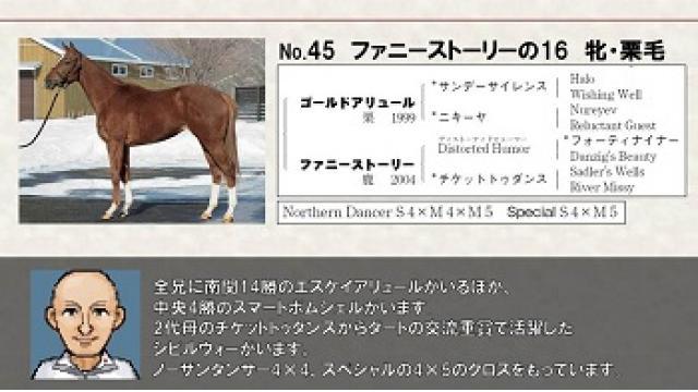 """即戦力の2歳馬""""ファニーストーリーの16""""購入!"""