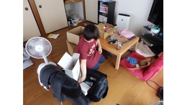 2018年 7月6日 梅島から引っ越し手伝い