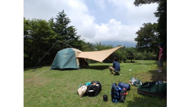 2018年 7月21~22日 朝霧ジャンボリーオートキャンプ